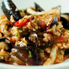 risotto pesce