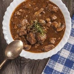 zuppe di carne